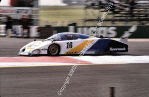 Lola T610 Edwards/Keegan 1982 Silverstone 6 Hours. Action photo